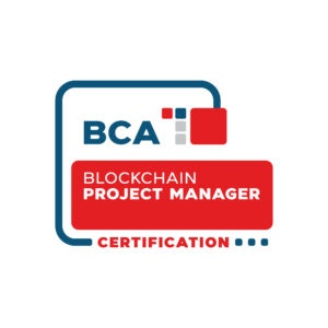 Blockchain Project Management Professional Certification digital badge from the Blockchain Certification Association
